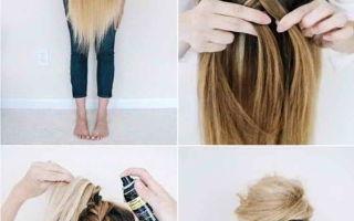 Прическа пучок на длинные и средние волосы: как сделать красивую объемную гульку своими руками, пошаговая инструкция с фото, как быстро собрать бублик, кому подходит