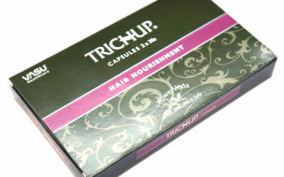Травяные капсулы для роста волос тричуп (trichup): как действует, состав препарата, противопоказания, отзывы