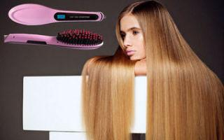 Расческа для выпрямления волос: керамическая, электрическая, термо щетка, отзывы, fast hair straightener, simply straight, remington cb7400 и т. п., как пользоваться горячей расческой-утюжком, видео