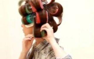 Бигуди липучки (ёжики): как правильно пользоваться, варианты укладки и накручивания на большие бигуди липучки для объёма, вредны или нет, фото до и после, видео и отзывы