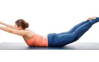Упражнение лодочка для спины: как выполнять, лечебное действие