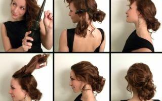 Прически с помощью плойки на средние, короткие, длинные волосы и на каре, фото, видео