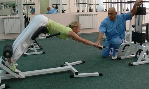 Лечение грыжи поясничного отдела позвоночника упражнениями Бубновского: гимнастика, обезболивающая зарядка