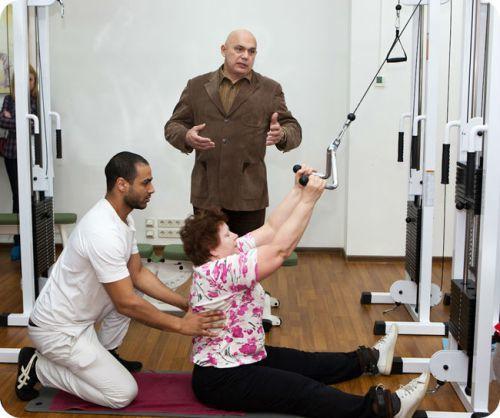 Упражнения при шейно грудном остеохондрозе по бубновскому
