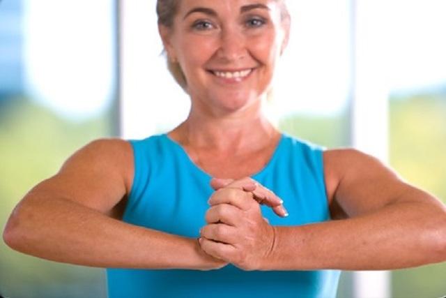 Гимнастика для шейного отдела позвоночника, лечебные изометрические упражнения для спины
