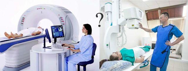 Что лучше КТ или МРТ позвоночника: чем отличаются, основные отличия рентгена поясничного отдела