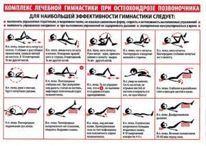 Упражнения Дикуля для спины при грыже: видео, особенности гимнастики