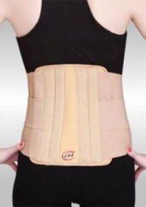 Ортопедический пояс для спины при болях в пояснице, виды медицинских корректоров
