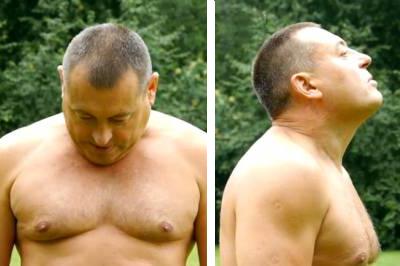 Разминка для позвоночника от Германа Тюхтина: видео, методика выполнения упражнений