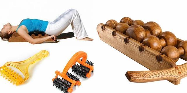 Роликовый массажер для спины и шеи, его виды (ленточный, ручной, деревянный)
