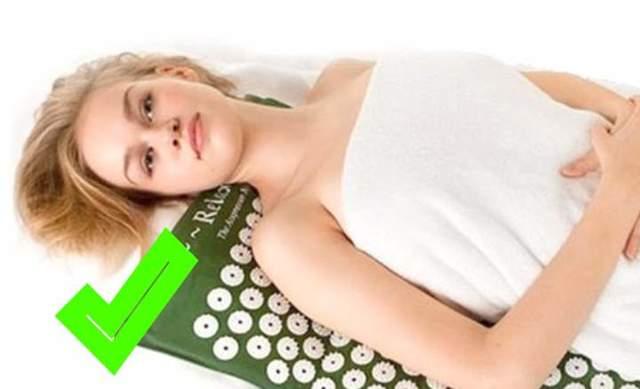 Массажный коврик для спины (с иголками, электрический), ляпко-аппликатор для позвоночника