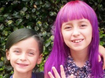 Детское окрашивание волос: особенности окрашивания мальчиков и девочек , средства и техники окрашивания детей и подростков