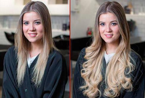 Бразильское наращивание волос или наращивание волос вплетением прядей, плюсы и минусы, фото до и после
