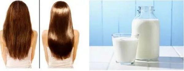 Осветление волос кефиром или кефирная маска для осветления волос, фото до и после