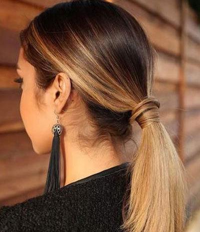 Омбре на темные волосы, фото на черные, каштановые, коричневые волосы, красивое сомбре для брюнеток, как сделать в домашних условиях