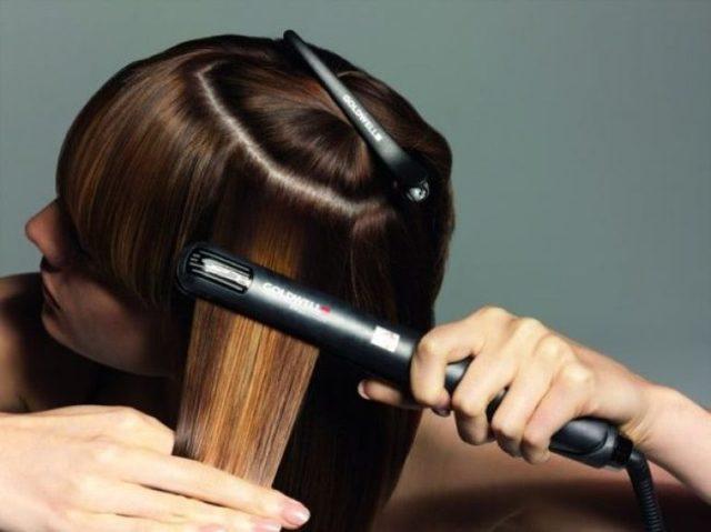 Термозащитный спрей для выпрямления волос с кератином: принцип действия, свойства, плюсы и минусы, обзор лучших спреев