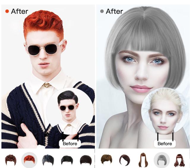 Как подобрать цвет волос онлайн по фото бесплатно, программа или приложение для выбора прически, обзор самых популярных, инструкция как пользоваться