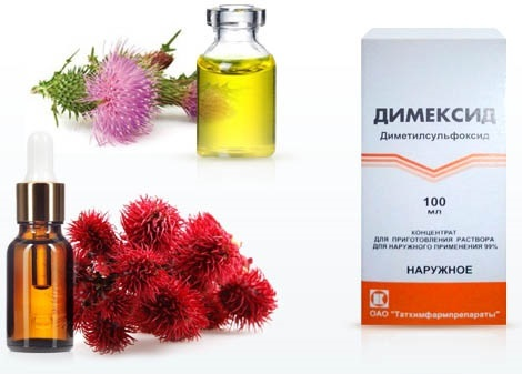 Димексид для роста волос: как пользоваться, рецепты масок, куда можно добавлять, эффект от использования