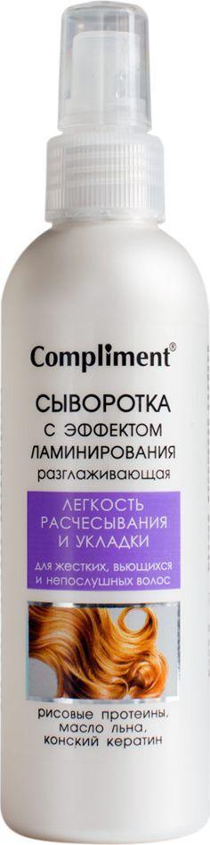 cпреи для волос с эффектом ламинирования: принцип действия и какой выбрать, markell, Золотой шелк, compliment, отзывы