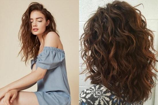 Каскад на вьющиеся волосы: фото стрижки на волнистые средние, короткие и длинные волосы, с челкой и без, модные каскадные прически, кому они подходят, примеры знаменитостей