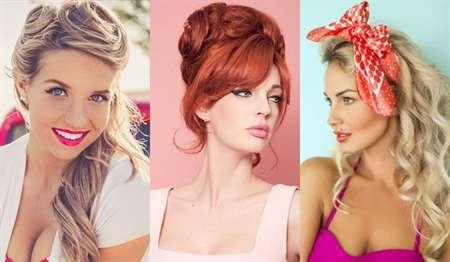 Пин-ап прически: как сделать укладку в ретро стиле на длинные, средние, короткие волосы, с повязкой на голову и без самостоятельно в домашних условиях, фото блондинок и брюнеток в стиле пин-ап