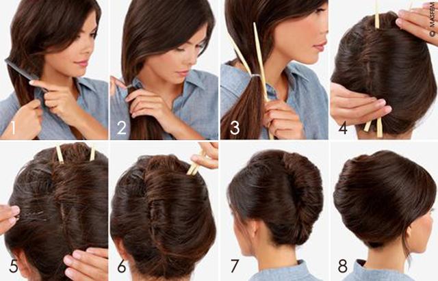 Прическа ракушка: как сделать французский пучок на средние, длинные, короткие волосы своими руками, пошаговая инструкция с фото, как выглядит текстурная укладка с челкой, техника выполнения, кому подходит