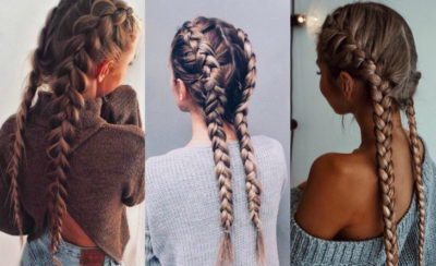 Две французские косы: как заплести 2 косички наоборот по бокам самой себе, как сделать поэтапно вывернутую укладку, кому подходит, модные варианты, фото знаменитостей