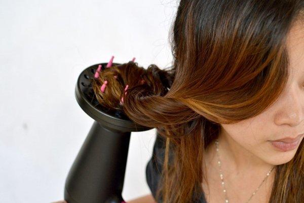 Фен для выпрямления волос или как выпрямить волосы феном, какую насадку использовать, фото до и после