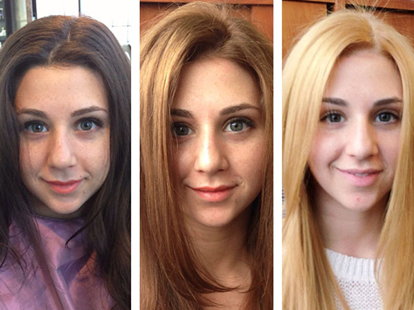 Как убрать желтизну с волос после окрашивание или осветления в домашних условиях, тонирование и другие способы, фото до и после