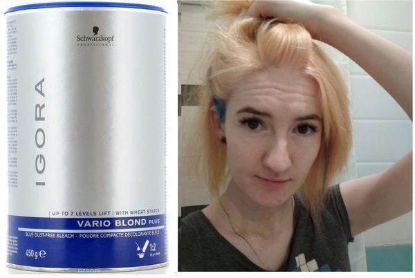 Осветляющий крем для волос или как работают разные крема для обесцвечивания волос: vox, byly и другие, фото до и после, отзывы
