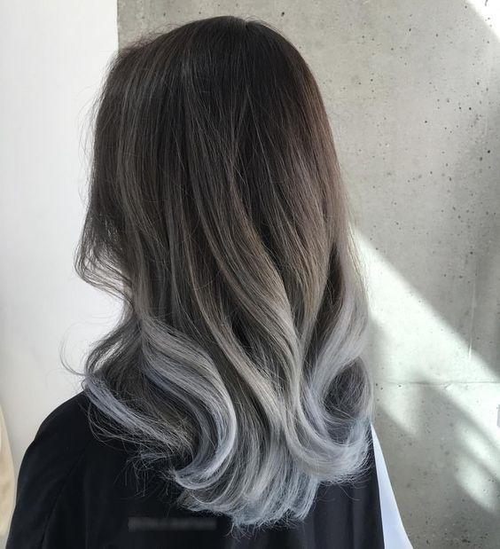 Пепельный цвет волос: фото окрашивания (блонд, розовый, темный, коричневый, фиолетовый, каштановый, жемчужный, серый и другие), кому подойдет, как получить нужный оттенок, обзор красок