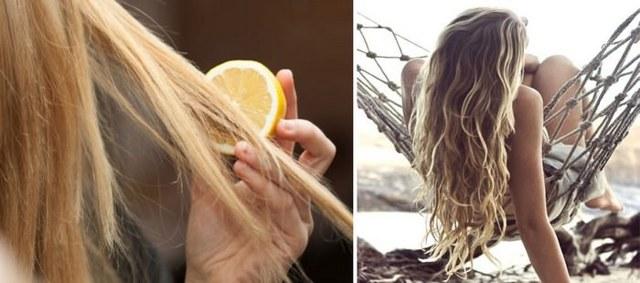 Осветление окрашенных волос в домашних условиях различными способами, фото до и после