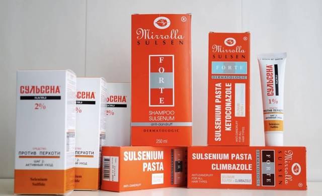 Сульсена паста для волос от перхоти, инструкция по применению, отзывы, состав, цена, что лучше: шампунь, масло, крем или сульсеновая паста