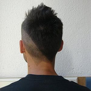 Мужская стрижка сзади треугольник: фото, вид с затылка, виды причесок — треугольником, клином и другие, кому подходят, модные варианты укладки, примеры знаменитостей
