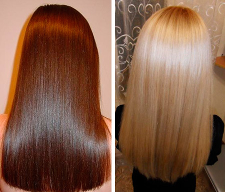 Цветное ламинирование волос или ламинирование с окрашиванием: фото до и после, отзывы