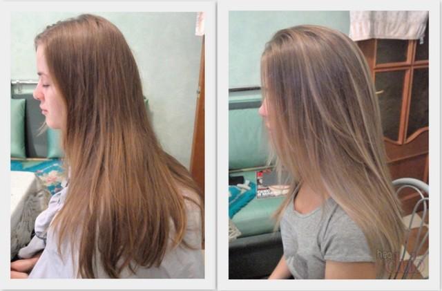 Осветление волос без вреда в домашних условиях