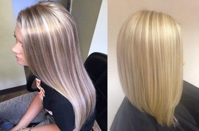 Покраска волос в стиле гранж, фото результата на блондинках, шатенках и брюнетках, особенности для коротких, средней длины и длинных волос, цена в салоне