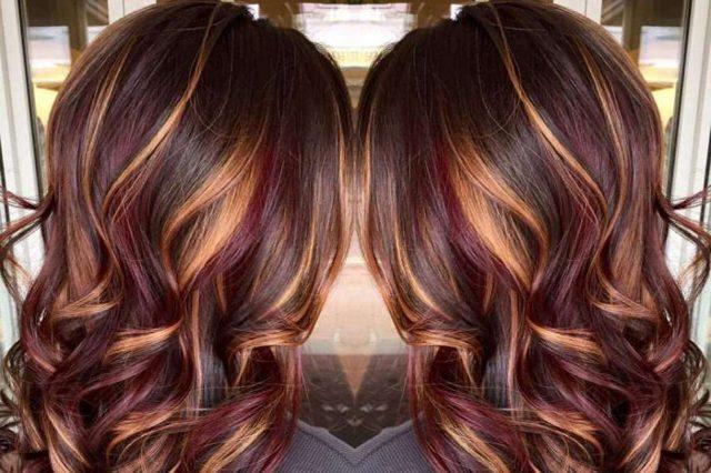 Окрашивание темных волос: фото, какой цвет можно выбрать для темных локонов разной длины (средние, длинные, короткие), модные блики, колорирование и другие интересные способы изменить прическу