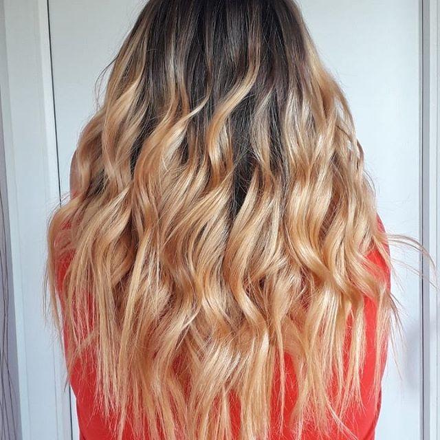 Растяжка цвета на волосах: фото окрашивания от темного к светлому, технология покраски на коротких и длинных, темных и светлых волосах, как сделать растягивание цвета от корней