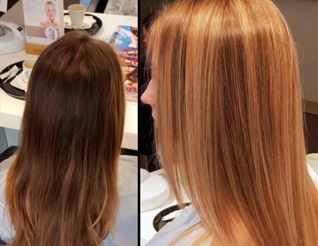 Венецианское мелирование: на темные волосы фото до и после, видео, результат на коротких, светлых, русых волосах, окрашивание в домашних условиях, уроки, техника выполнения