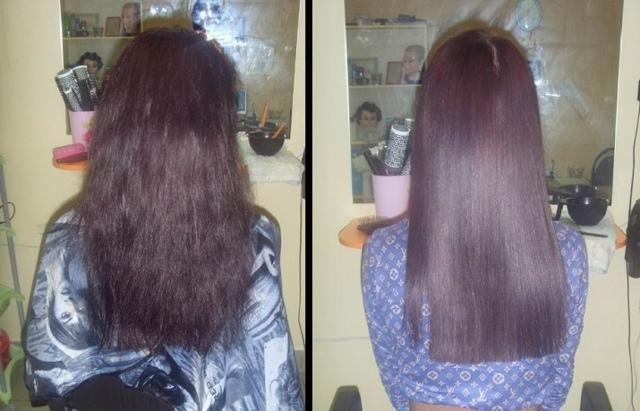 Шампунь с кератином для выпрямления волос: либридерм, капус, комплимент и другие, фото до и после