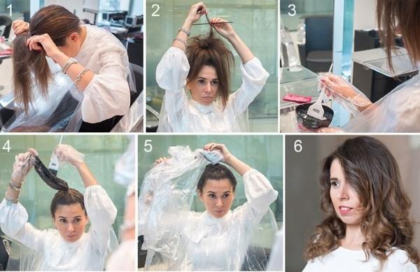 Шатуш на темные волосы, фото на короткие, прямые, средней длины и длинные волосы, каре, окрашивание шатуш на черные и каштановые волосы, техника проведения в домашних условиях, видео