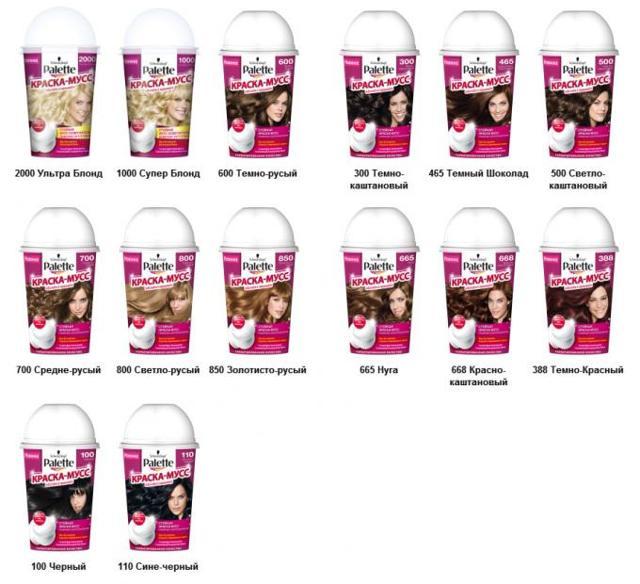 Краска для волос русый цвет: палитра оттенков (светлый, темный, холодный, золотистый, натуральный и другие), покраска различными средствами, фото результатов