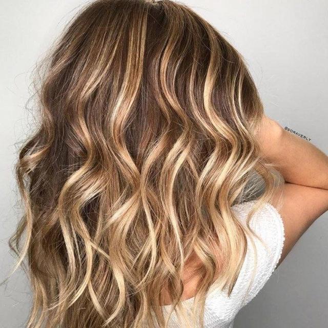 Бебилайтс (babylights) или окрашивание волос поцелуй солнца, техника проведения, фото причесок, результат на темных волосах