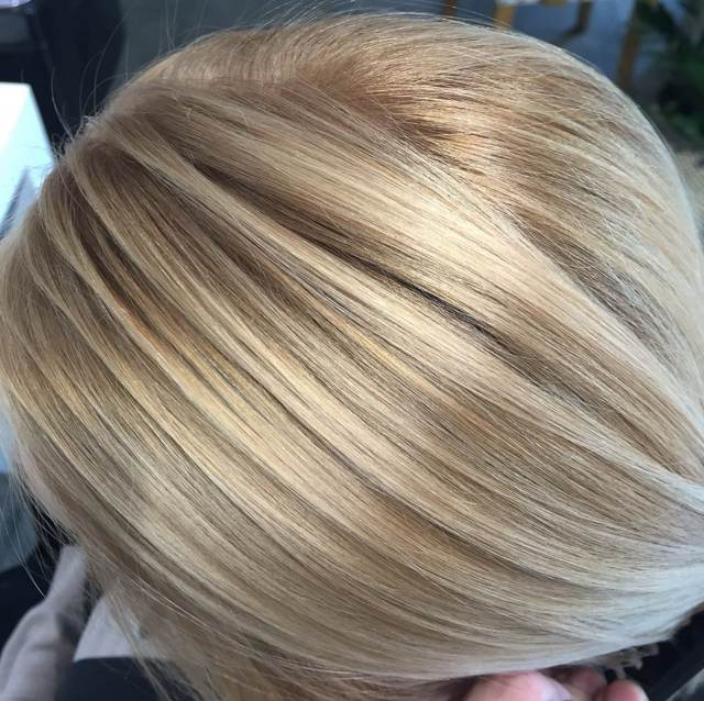 Блондирование волос на русые и темные волосы в домашних условиях, фото до и после