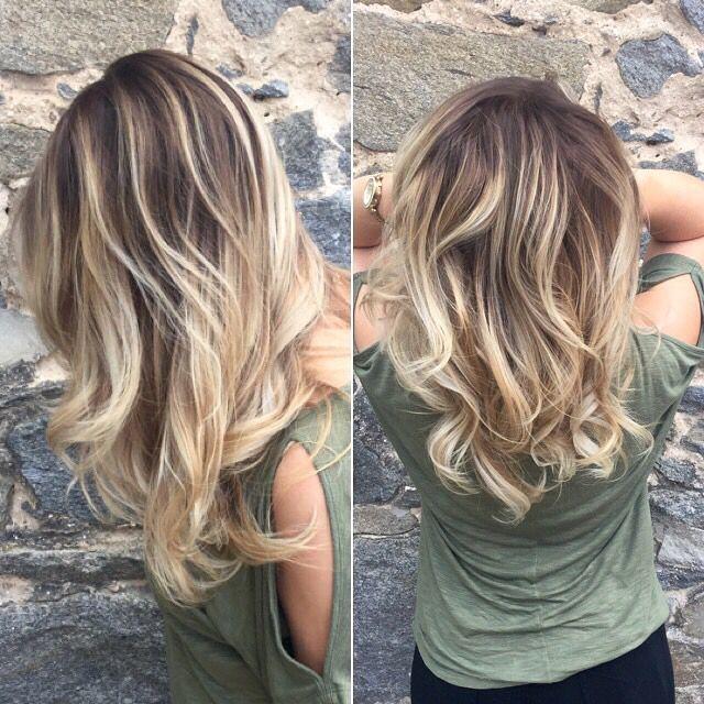 Красное омбре на темные волосы: фото на коротких, средней длины и длинных локонах, окрашивание на черных, русых и светлых волосах, кому подойдет