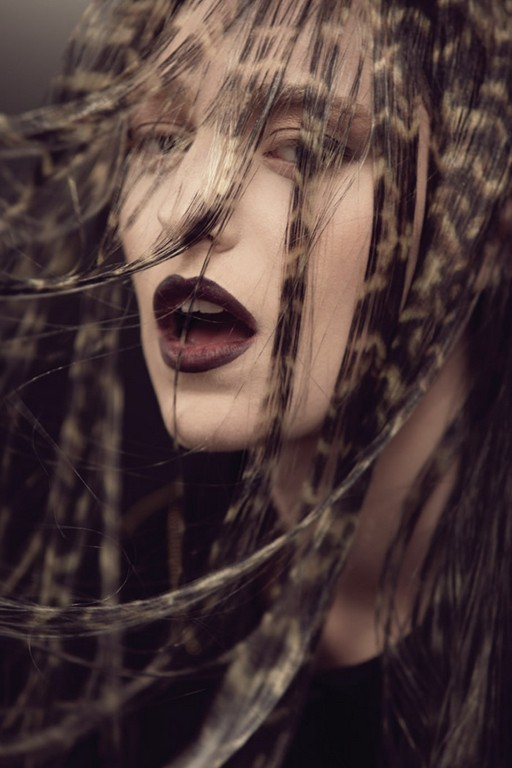 Трафаретное окрашивание волос: что такое, виды трафаретного окрашивания, техника окрашивания, фото