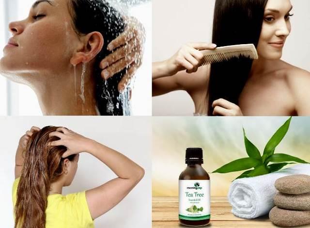 Масло чайного дерева для роста волос: состав, полезные свойства, как применять, фото до и после