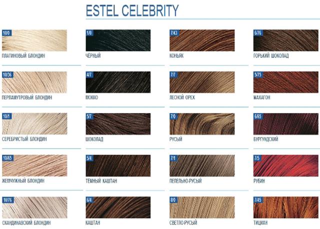 Тонирование волос краской Эстель после осветления, подбор оттенков estel и палитра