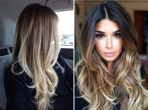 Модное окрашивание на длинные волосы, как самой правильно и красиво покрасить длинные волосы в домашних условиях, женские фото креативных вариантов